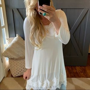 Lace Layering top
